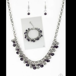 Jewelry - Matching necklace bracelet and earrings set